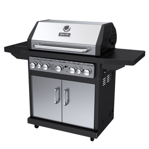 Dyna-Glo 5 Burner Stainless LP Gas Grill - DGA550SSP-D