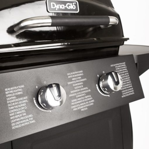 Dyna-Glo 2 Burner Open Cart Propane Gas Grill - DGB300CNP-D