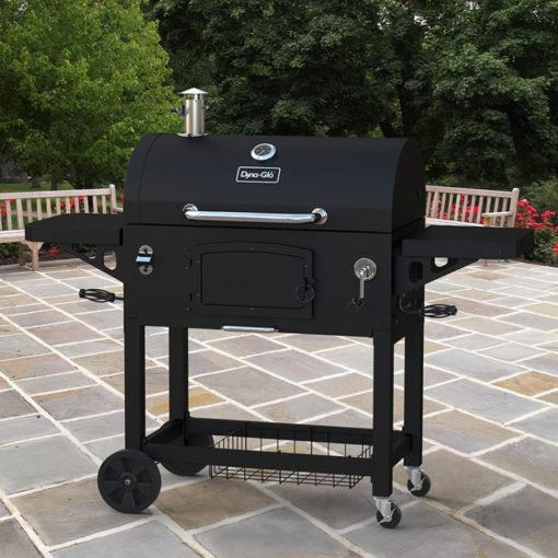 Dyna-Glo X-Large Heavy-Duty Charcoal Grill - Black Powder Coat DGN576DNC-D