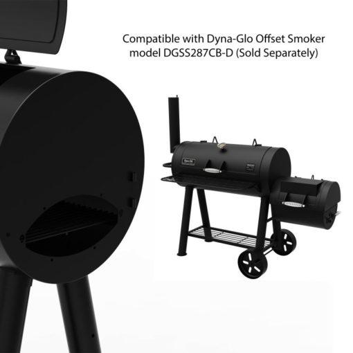 Dyna-Glo Signature Series Heavy-Duty Barrel Charcoal Grill - DGSS675CB-D