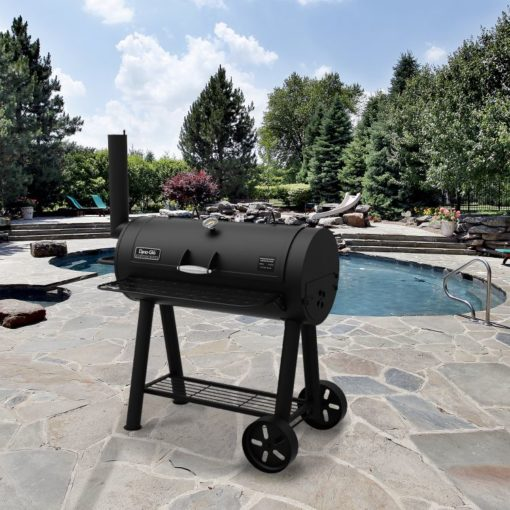 Dyna-Glo Signature Series Heavy-Duty Barrel Charcoal Grill - DGSS675CB-D