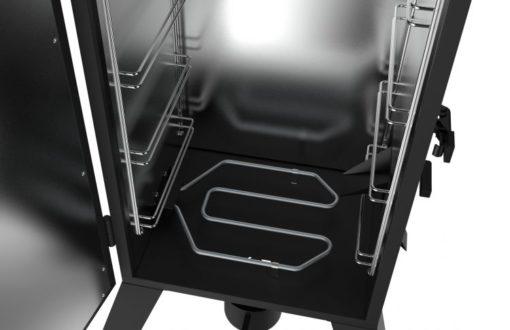 Dyna-Glo 30-inch Analog Electric Smoker-interior