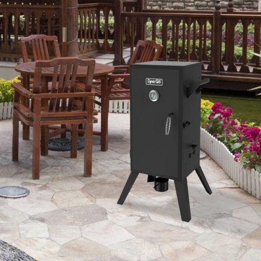 Dyna-Glo 30-inch Analog Electric Smoker-lifestyle