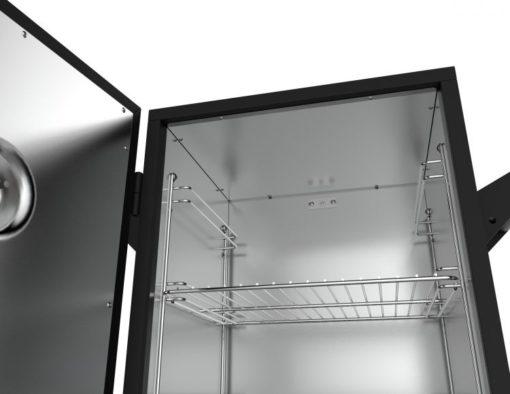 Dyna-Glo 30-inch Analog Electric Smoker-upper-tray