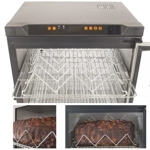 Dyna-Glo 30 inch Digital Bluetooth Electric Smoker DGU732SDE-D - rack