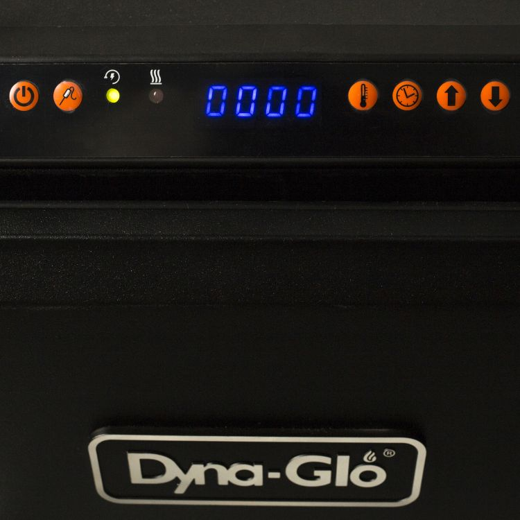 Dyna-Glo 30-inch Digital Electric Smoker - controls