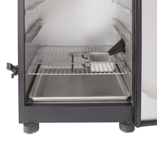 Dyna-Glo 30-inch Digital Electric Smoker - inside tray