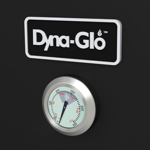 Dyna-Glo 36 inch Dual Door LP Gas Smoker DGY784BDP - thermometer
