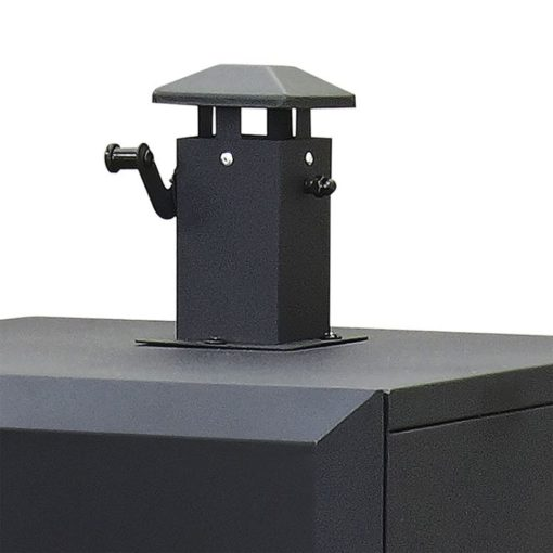 Dyna-Glo 36 inch Vertical Charcoal Smoker DGX780BDC-D smoke stack