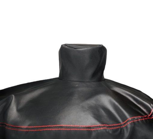 Dyna-Glo DG1382CSC Premium Vertical Offset Charcoal Smoker Cover - smokestack