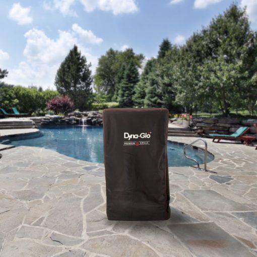 Dyna-Glo DG951ESC Premium Vertical Smokear Cover - lifestyle