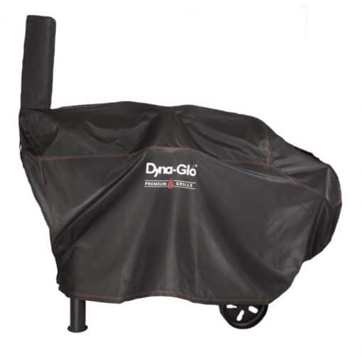Product shot of Dyna-Glo DG962CBC Barrel Charcoal Grill Cover - DG962CBC