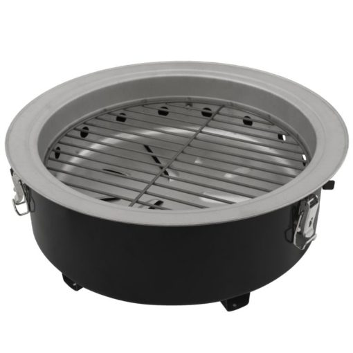 Base grll of the Dyna-Glo DGVS390BC-D Compact Charcoal Bullet Smoker