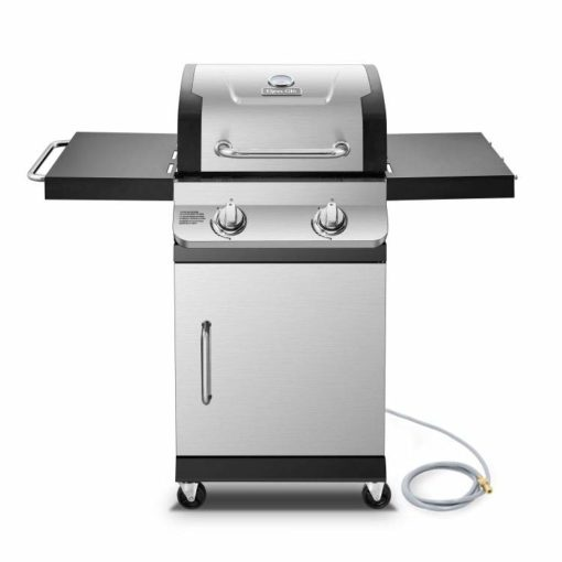 Dyna-Glo Premier 2 Burner Natural Gas Grill DGP321SNN-D - hero
