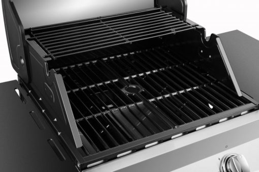Cooking area of the Dyna Glo Premier 2 Burner Propane Gas Grill - DGP321SNP-D