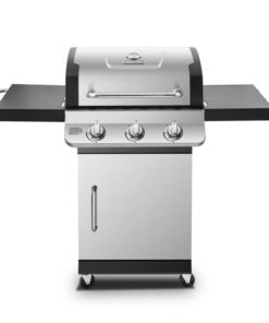 Dyna-Glo Premier 3 Burner Propane Gas Grill - Stainless DGP397SNP-D