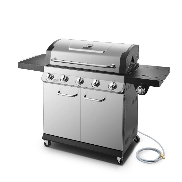 Dyna Glo Premier 5 Burner Natural Gas Grill - DGP552SSN-D - sid