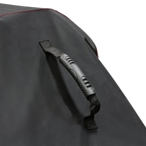 Handle on the Dyna-Glo Premium Grill Cover for 75in grills - DG700C