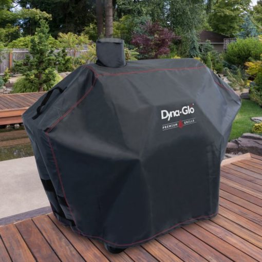 Dyna-Glo Premium Large Charcoal Grill Cover - DG576CC-lifestyle