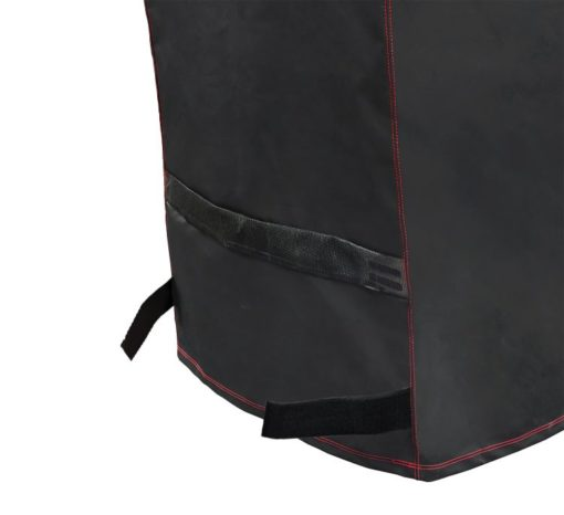 Base straps of the Dyna-Glo Premium Medium Charcoal Grill Cover - DG405CC