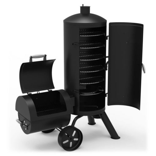 Dyna-Glo Signature Series Vertical Charcoal Smoker and Grill DGSS1382VCS-D -product-open