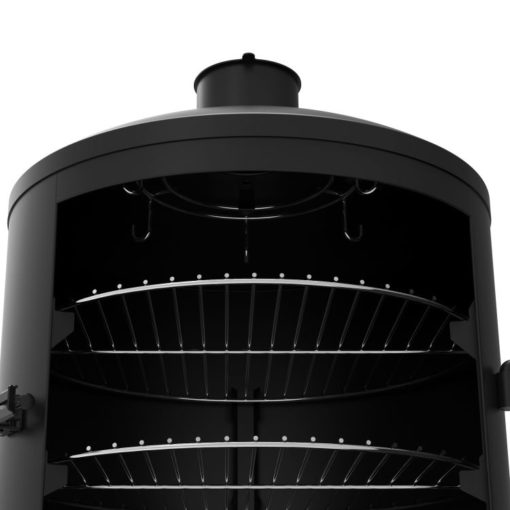 Dyna-Glo Signature Series Vertical Charcoal Smoker and Grill DGSS1382VCS-D -vertical smoker upper