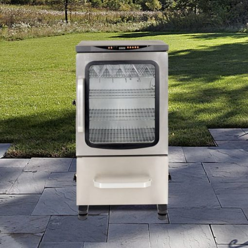 Dyna-Glo Two Door Digital Bluetooth Electric Smoker DGU951SDE-D 40 - lifestyle shot