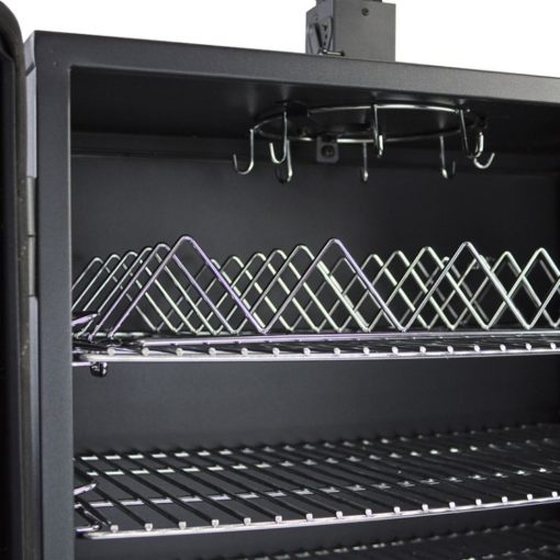 Dyna-Glo Wide Body Vertical Offset Charcoal Smoker DGO1890BDC-D - upper tray