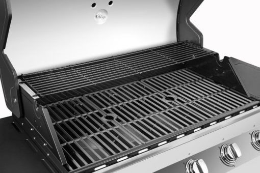 Cooking area of the Dyna Glo Premier 5 Burner Propane Gas Grill - DGP552SSP-D