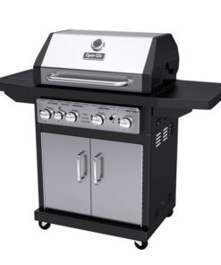 Dyna-Glo 4 Burner LP Gas Grill - Stainless Steel - DGA480SSP-D