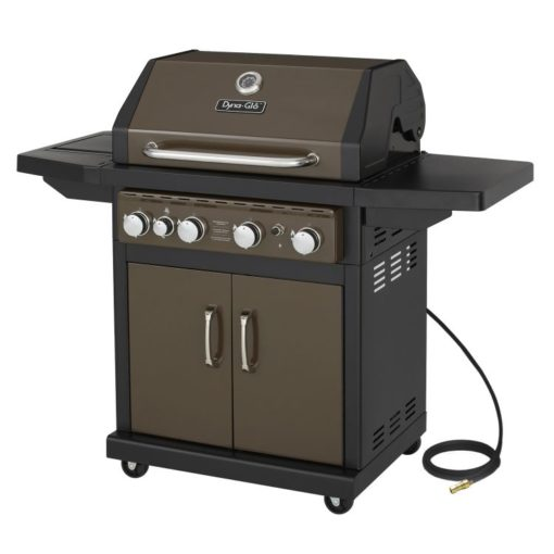 Dyna-Glo 4 Burner Natural Gas Grill Bronze - DGA480BSN