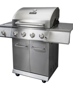 Dyna-Glo 4 Burner Stainless LP Gas Grill - DGE486SSP-D