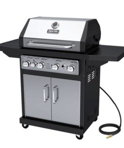 Dyna-Glo 4 Burner Stainless Natural Gas Grill - DGA480SSN-D