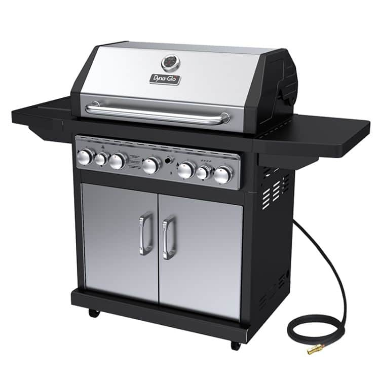 Dyna-Glo 5 Burner Stainless Natural Gas Grill - DGA550SSN-D