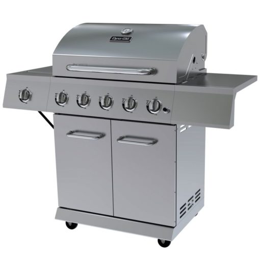 Dyna-Glo 5 Burner Stainless Steel LP Gas Grill - DGE530SSP-D