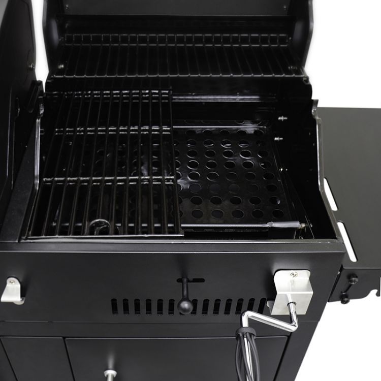 Charcoal Tray Adjustments Dyna Glo Dual Fuel Grill Dgb730snb D Kit