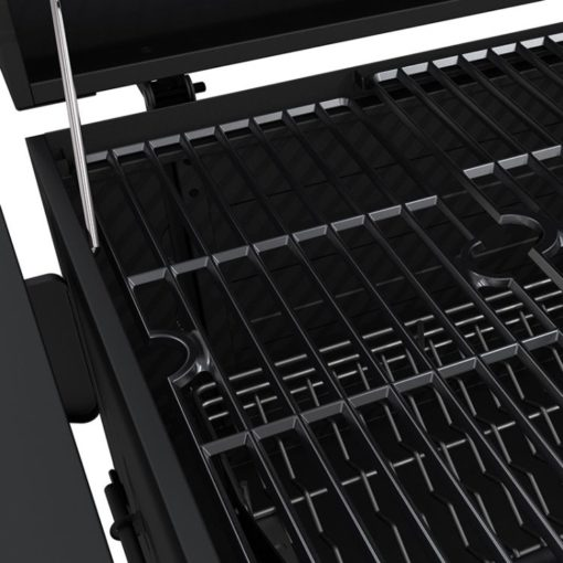 Porcelain-enameled, cast iron cooking grates for the Dyna-Glo Heavy-Duty Charcoal Grill Black Powder Coat - DGN486DNC-D