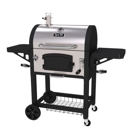 Dyna-Glo Heavy-Duty Charcoal Grill Stainless Steel - DGN486SNC-D