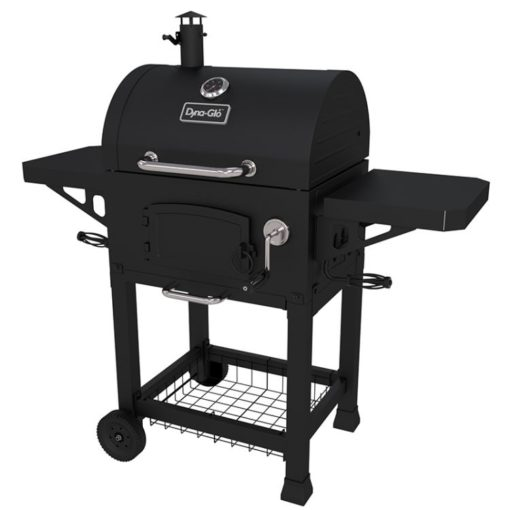 Dyna-Glo Heavy-Duty Compact Charcoal Grill Black Powder Coat - DGN405DNC-D