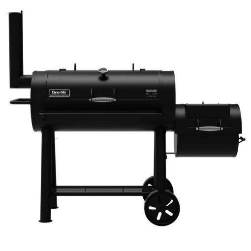 Dyna-Glo Signature Series Barrel Charcoal Grill and Offset Smoker - DGSS962CBO-D