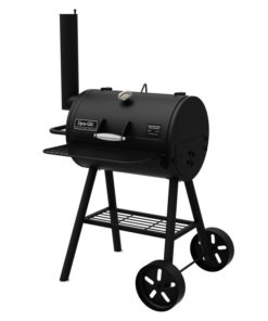 Dyna-Glo Signature Series Heavy-Duty Compact Barrel Charcoal Grill - DGSS443CB-D