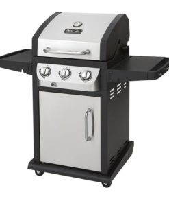 Dyna-Glo Smart Space Living 3 Burner LP Gas Grill – Stainless Steel - DGB390SNP-D