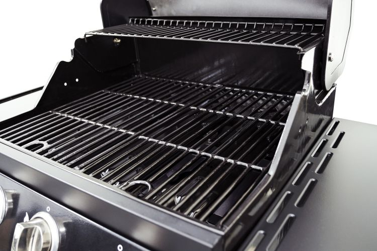 Cast iron grates for the Dyna-Glo Smart Space Living 3 Burner LP Gas Grill – Burnishd Bronze - DGB390BNP-D