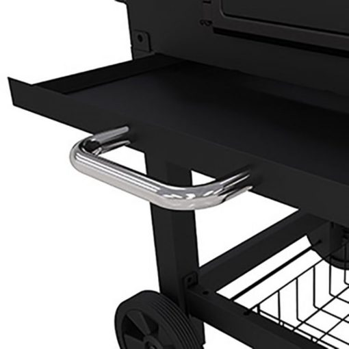 Ash Pan for the Dyna-Glo X-Large Heavy-Duty Charcoal Grill - Black Powder Coat DGN576DNC-D