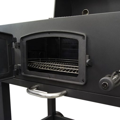 Charcoal tray adjustment crank for the Dyna-Glo X-Large Heavy-Duty Charcoal Grill - Black Powder Coat DGN576DNC-D