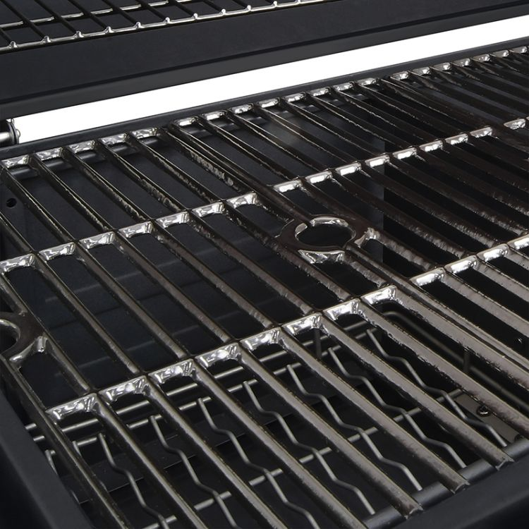 Porcelain-enameled, cast iron cooking grates for theDyna-Glo X-Large Heavy-Duty Charcoal Grill - Black Powder Coat DGN576DNC-D