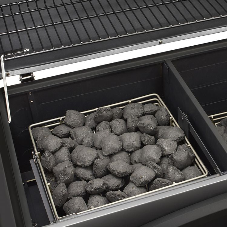Dyna Glo X Large Premium Dual Chamber Charcoal Grill