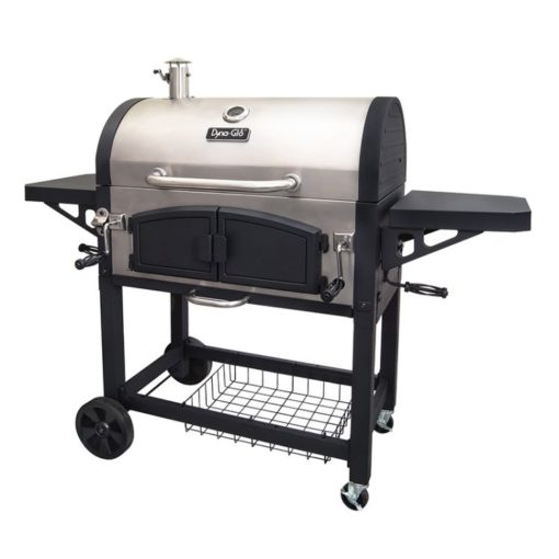 Dyna-Glo X-Large Premium Dual Chamber Charcoal Grill - DGN576SNC-D