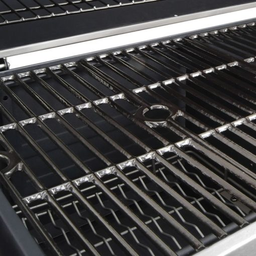 Porcelain-enameled, cast iron cooking grates for the Dyna-Glo X-Large Premium Dual Chamber Charcoal Grill - DGN576SNC-D