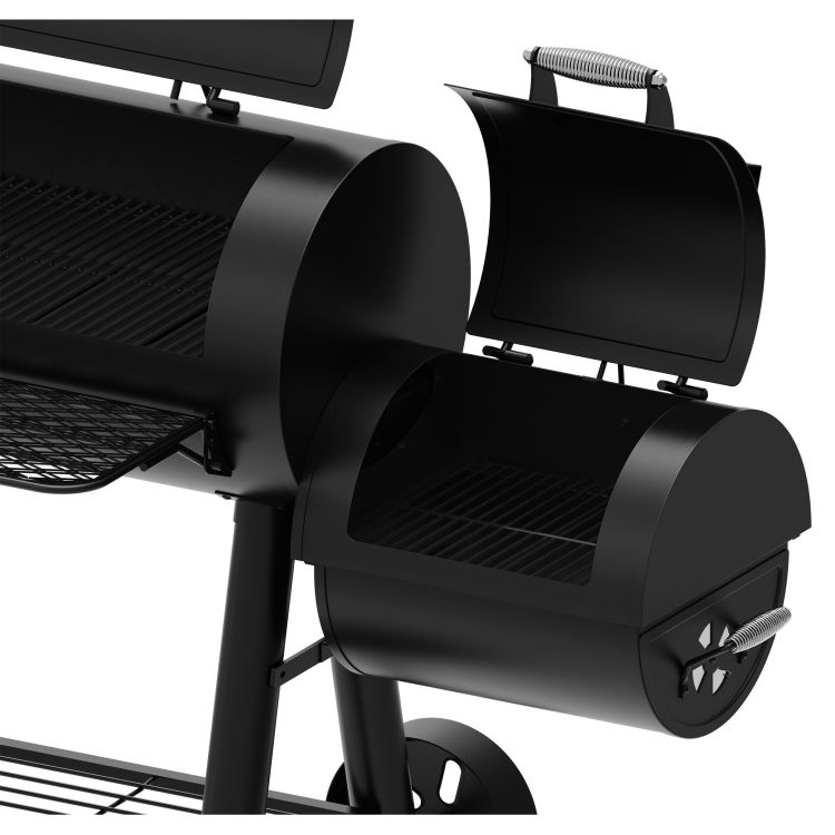 Offset smoker or secondary cooking space- DGSS962CBO-D